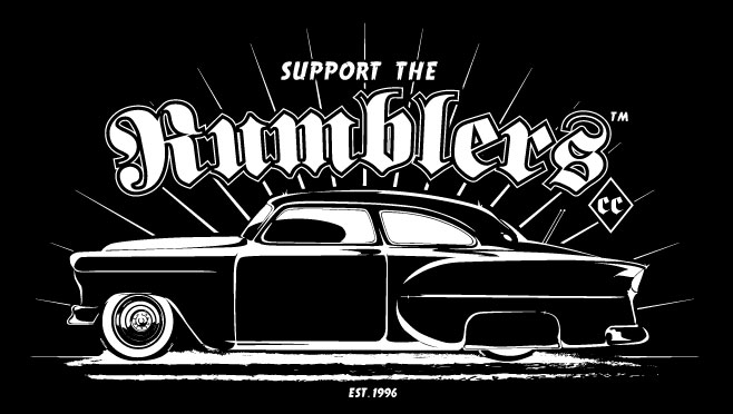 ... Car Club Logo Rumblers nation official home of the rumblers car club
